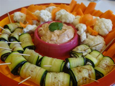 recette cuisine courgette des légumes pour l apéro miaaaam
