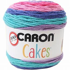 Caron Cakes Mixed Berry Aran Yarn 200g