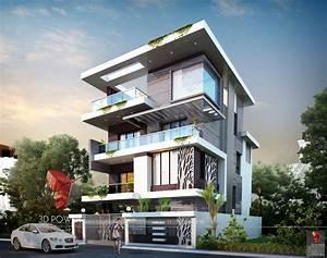 Beautiful 3d Exterior Design Rendering Of A Bungalow