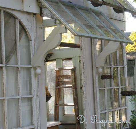 garden shed awningdiyabsolutely love  vintage