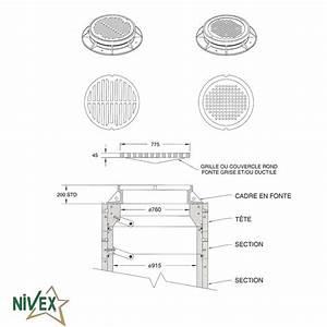 Couvercle De Regard En Fonte : nivex nos produits ~ Nature-et-papiers.com Idées de Décoration