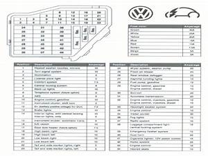 6 Best Images Of 2014 Passat Fuse Layout Diagram