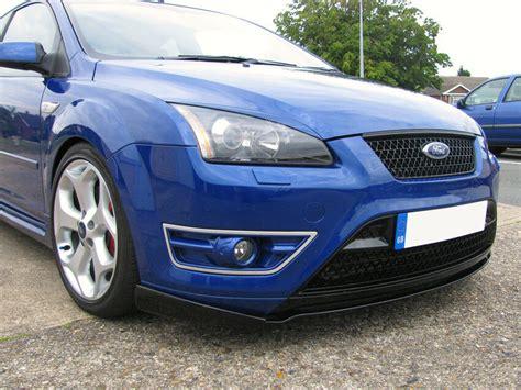 ford focus mk2 st ford focus mk2 st front lip splitter valance ebay