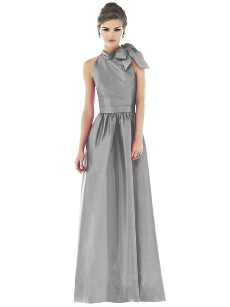 dessy alfred sung  bridesmaid dress   silhouette