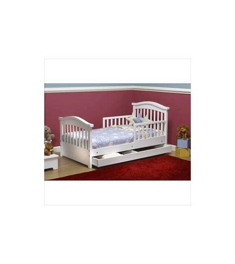 sorelle joel solid pine toddler bed white