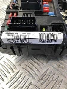 Bsm Fuse Box Citro U00ebn C3 1 4i Exclusive