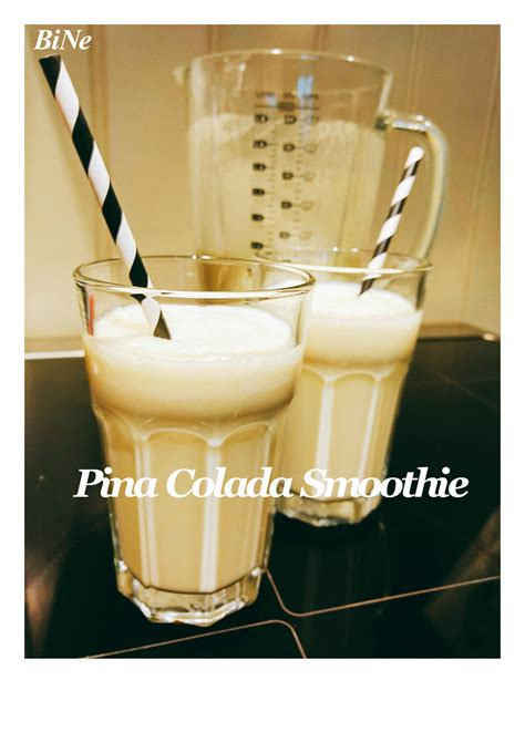 bine  pina colada smoothie rezept mit bild kochbarde