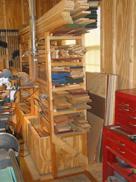 woodshop storage plans plans diy   plan