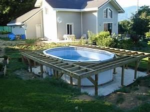 Aménagement Autour D Une Piscine : quel am nagement pour ma piscine hors sol ~ Melissatoandfro.com Idées de Décoration