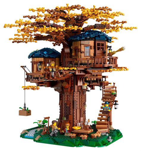 lego ideas treehouse    piece masterpiece