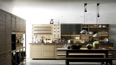 Combine glamorous Italian kitchen glass, wood and