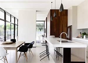 cuisine americaine ouverte sur salle a manger marie claire With modele de plan maison 14 firme de design et decoration dinterieur designer