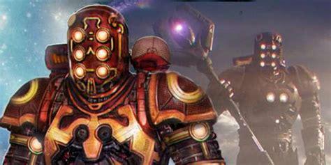 celestial cosmo concept art  marvels guardians