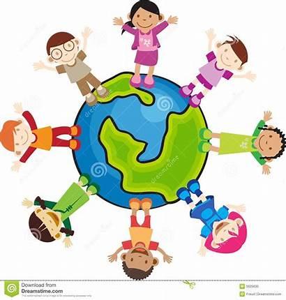 Culture Kinder Multi Children Kultur Enfants Bambini