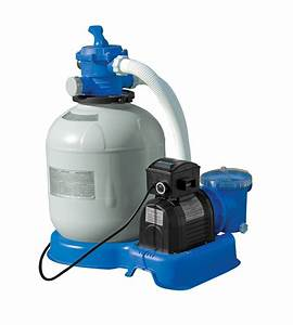 Intex 1200  1600 And 2650 Sand Filter Pump Setup