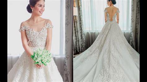 Filipino Celebrity Wedding Dresses!