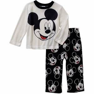 Mickey Mouse Toddler Boys' Long Sleeve Top with Fleece ...