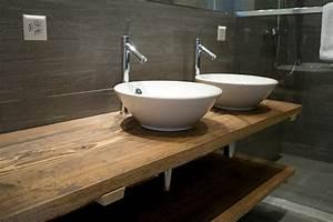 Waschtisch Aus Holz FUr Aufsatzwaschbecken