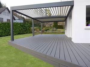 Terrasse Lame Composite : terrasse composite atlantis bois n goce ~ Edinachiropracticcenter.com Idées de Décoration