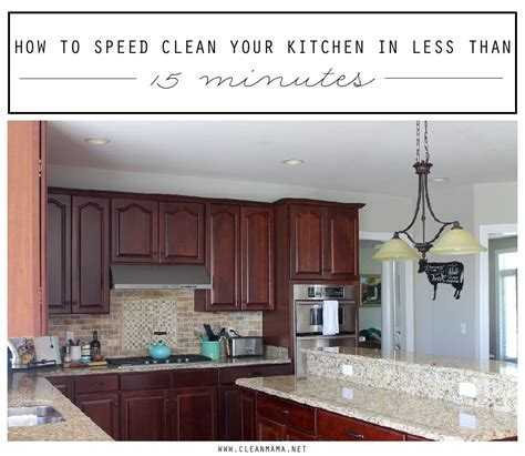 how to clean a kitchen in the kitchen archives clean