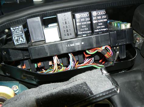 porsche box porsche 964 rear fuse box wiring diagram