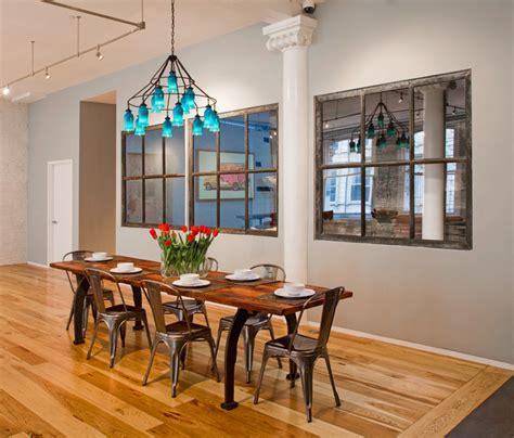 Tribeca Loft  Industrial  Dining Room  New York By