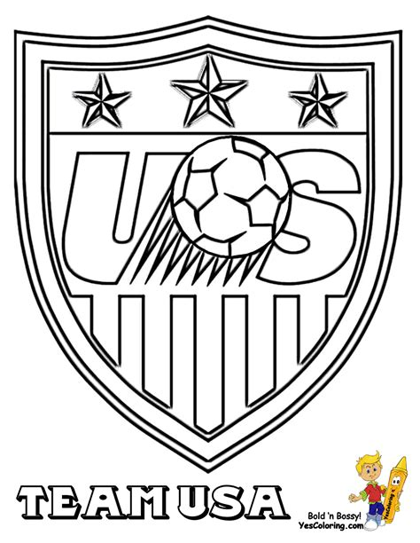 soccer coloring sheets fifa usa mls west  sports
