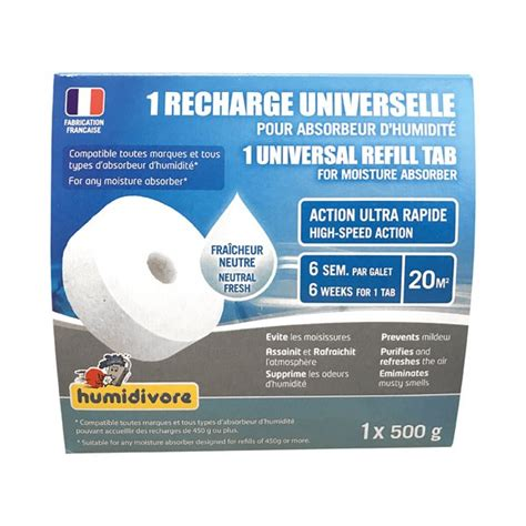 recharge absorbeur 500g galet perc 233 211104440200 humidivore home boulevard