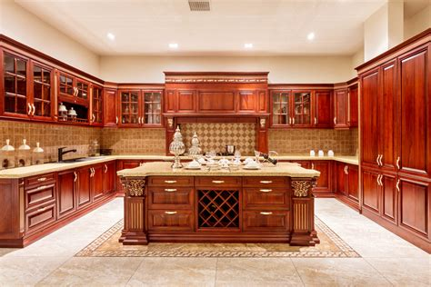 advantages  solid wood cabinets