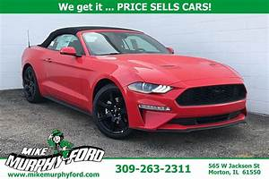 New 2020 Ford Mustang EcoBoost Premium 2D Convertible in Morton #114878 | Mike Murphy Ford
