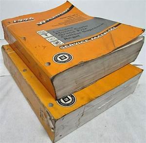 1996 Monte Carlo Lumina Grand Prix Cutlass Supreme Regal Service Shop Manual Set