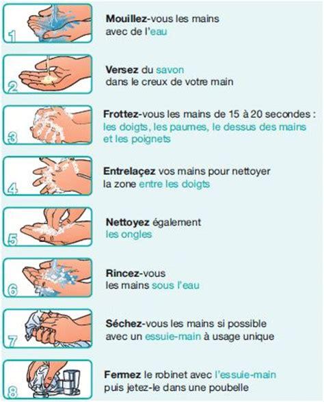protocole de lavage des mains en cuisine hygiène le lavage des mains bien se laver les mains