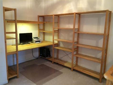 Ikea Regale Arbeitszimmer by Ikea Ivar Desk Bookshelves Ivar