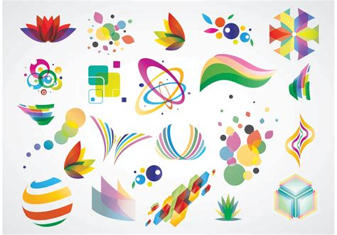 logo design elements download free vector art stock