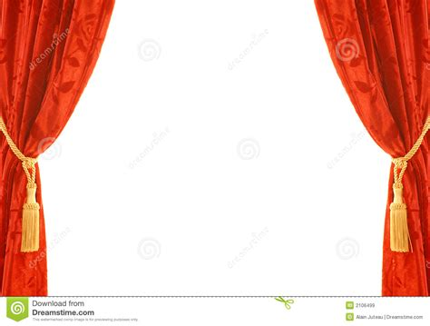 red velvet curtain royalty  stock images image