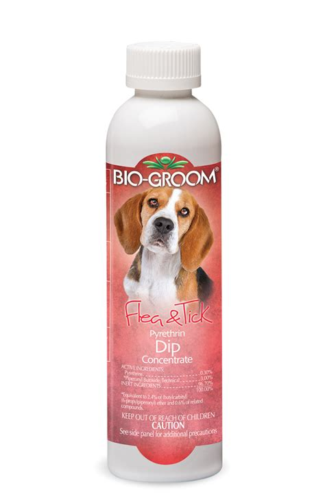 pyrethrin dip fast acting protection bio groom