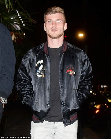 Chelsea new boy Timo Werner heads out for a meal in ...