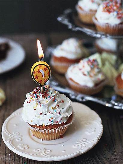 Birthday Cupcake Gifs Happy Belles Frosting Buttery