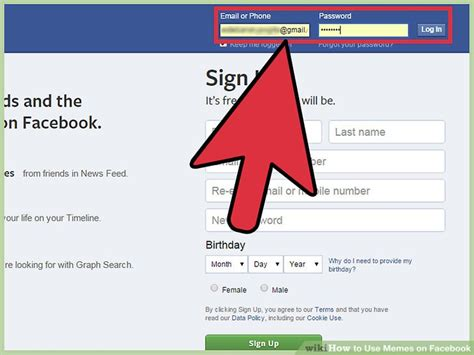 How To Make Memes On Facebook - 3 ways to use memes on facebook wikihow