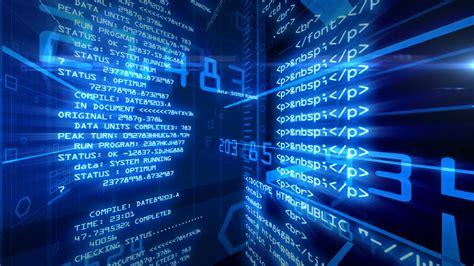 Digital Technology Business Wallpaper by Data Code Digital Technology Animation Motion Background