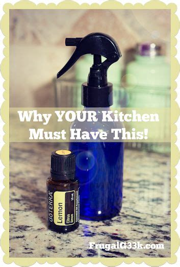 Why Every Kitchen Needs #doterra Lemon Essential Oil
