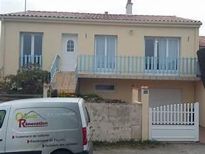 peindre une faade de maison cheap prix peinture faade With peindre une facade de maison