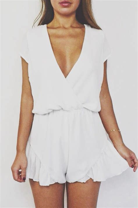 Best White Romper Outfit ideas on Pinterest