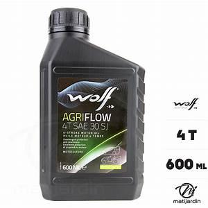 Capacité Huile Moteur : huile moteur wolf 4 temps sae30 0 6 litre matijardin ~ Medecine-chirurgie-esthetiques.com Avis de Voitures