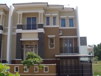 gambar contoh kombinasi warna cat rumah desain minimalis