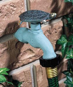 decorative hose bibs hose bibbs with a sense of style make your garden unique