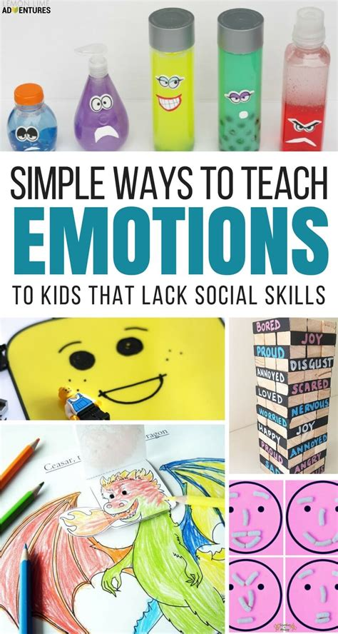 activities to help recognize big emotions 232 | Simple Ways to Teach Emotions to Kids that Lack Social Skills