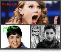 Then And Now Josh Peck...