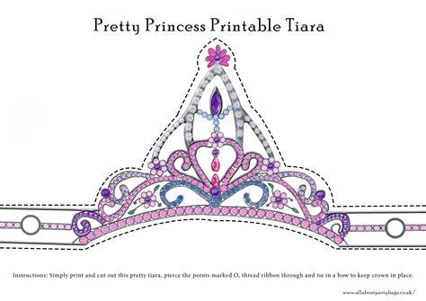 Free Printable Tiara Template by 10 Best Images Of Cut Out Crowns And Tiaras Crown