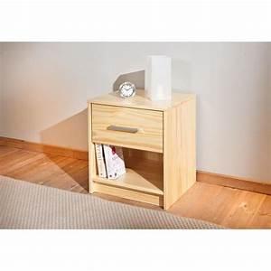 Chevet Bois Massif : table de chevet en bois massif achat vente chevet ~ Teatrodelosmanantiales.com Idées de Décoration